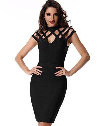 Adyce Nightclub-Dress-Bodycon Sexy Bandage-Dress For Women Night Party-Clubwear Evening US 2/4 by Adyce