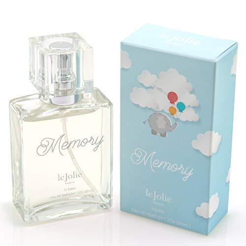 Le Jolie Memory Perfume For Babies alcohol- free EAU DE PARFUM | Baby Cologne 1.7 OZ (50ML)
