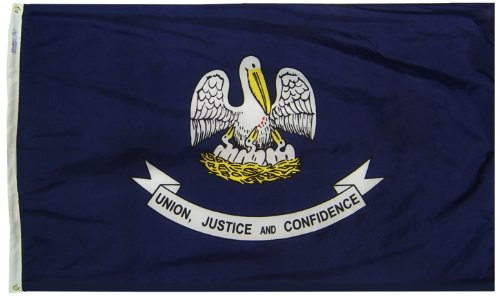 Annin Flagmakers Model 142160 Louisiana State Flag 3x5 ft. N