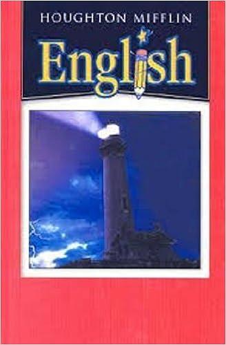 Houghton Mifflin English Hardcover Student Edition Level 6
