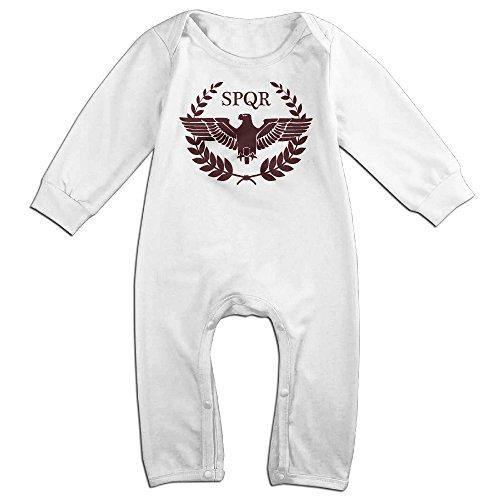 HOHOE Boy's & Girl's The SPQR Logo Long Sleeve Outfits 18 (Michael Jordan Kids Costume)
