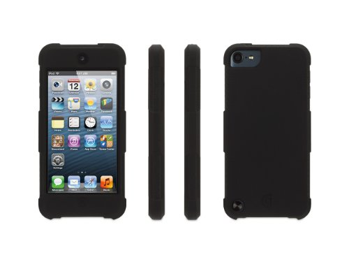 - Griffin Black Survivor Skin Protective Case for iPod touch (5th/6th gen.) - 6-foot drop protection in a silicone skin.