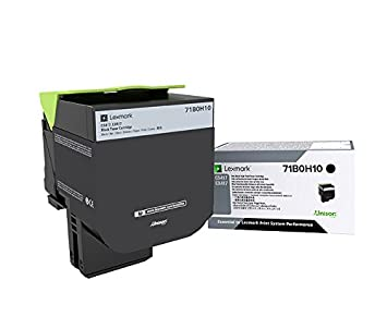 Lexmark 71b0h10 toner laser noir cartouche toner et laser