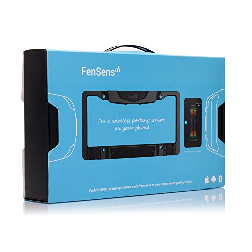 FenSens Smart Wireless Parking Sensor - 100% Wireless, Easy-Install, Available for iOS and Android