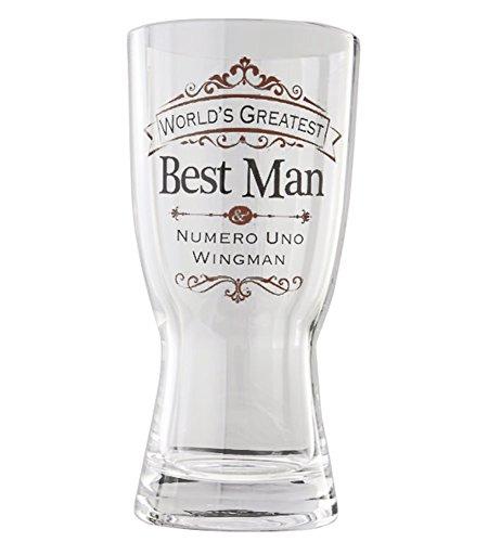 Enesco Insignia Best Beer Glass