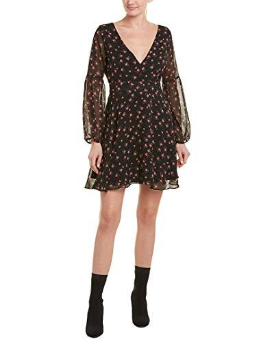 BB Dakota Women's Love in The Afternoon Dress, Black, 4 -
