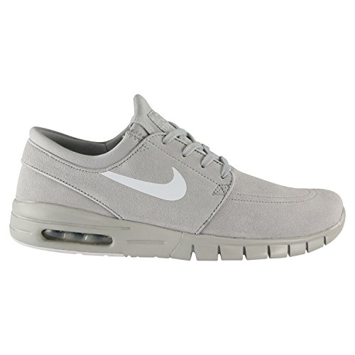 976fe4e9f6d9 Galleon - Nike Men s Stefan Janoski Max L Matte Silver Pure Platinum Skate  Shoe 10 Men US