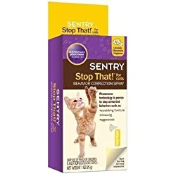 Sentry Stop That Feline Bad Behavior Corrector Noise & Pheromone Spray (1oz)