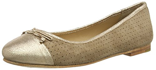 Bea Shoes Gris Marc combi 261 Grau taupe Bailarinas Mujer 6Paax5qz