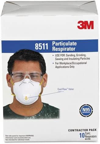 3m cool flow masks 8511