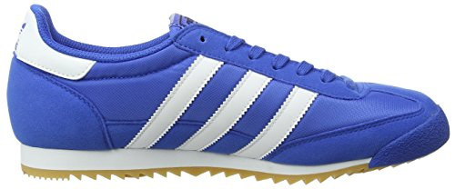 Adidas Dragon footwear Og Adulte Mixte White gum De Chaussures blue Bleu Fitness rrUwqnzTx