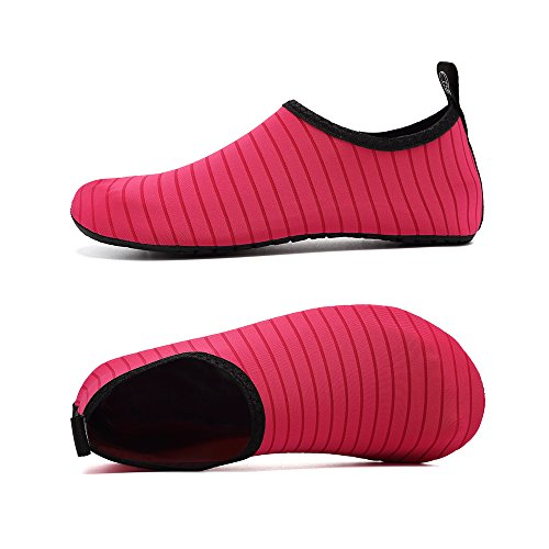 Water Exercise Shoes Socks Aqua Unisex for Coolloog Barefoot Rose Quick Kids Dry Shoes Women Yoga Beach Men TB5gwvq