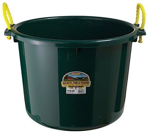 LITTLE GIANT Green PSB70 GRN. MUCK Utility Bucket, 70 Quart