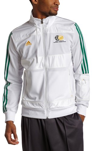 South Africa Track Top (White, XLarge)