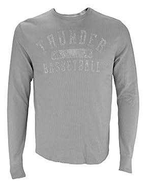 Adidas Oklahoma City Thunder de la NBA Hombres Manga Larga Camiseta térmica, Color Gris, Gris: Amazon.es: Deportes y aire libre