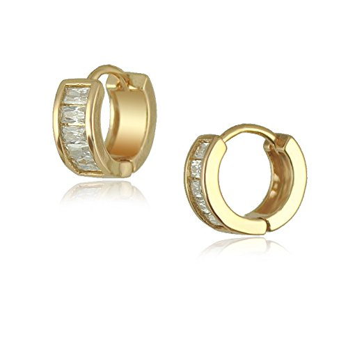 Yellow Gold Diamond Loop - 2