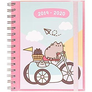 Pusheen Gold 2019/2020 Week to View Academic Diary