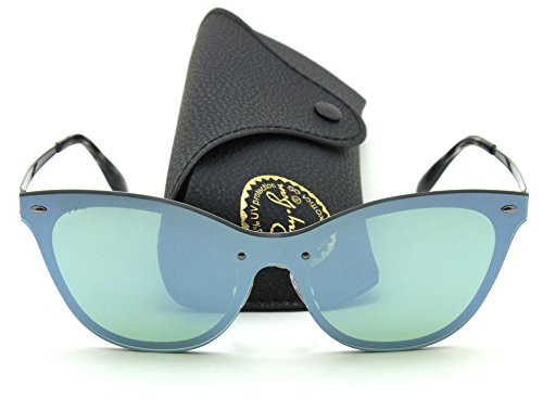 Ray-Ban RB3580N BLAZE CAT EYE Mirror Sunglasses 042/30, 43mm (Cat Glasses Ban Ray Eye)