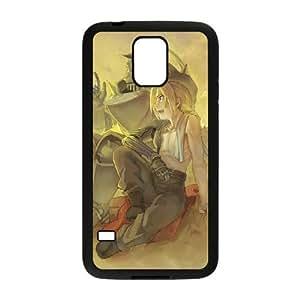 Samsung Galaxy S5 phone case Black FULLMETAL ALCHEMIST RRTY7503275