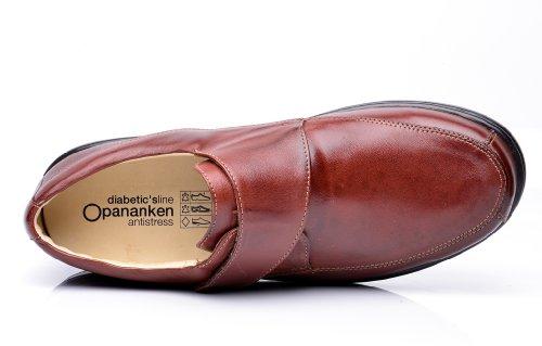 Opananken Mens Maxi Care Varese Vegetable Tanned Sheep Leather Slip-on Coffee ilQG9IidK
