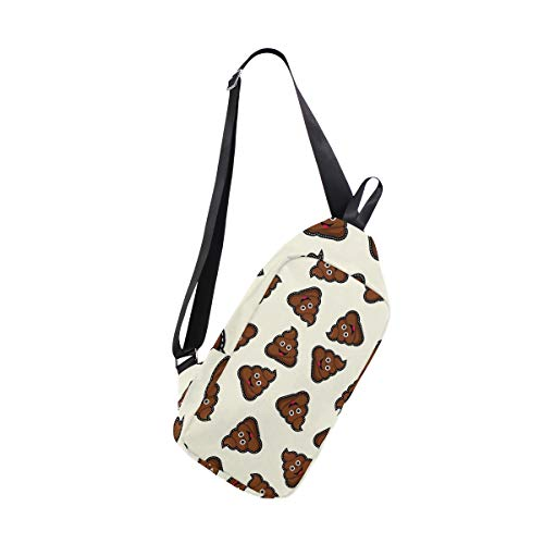 TFONE Cute Cat Flower Floral Crossbody Bag Lightweight Chest Shoulder Messenger Pack Backpack Sling Bag
