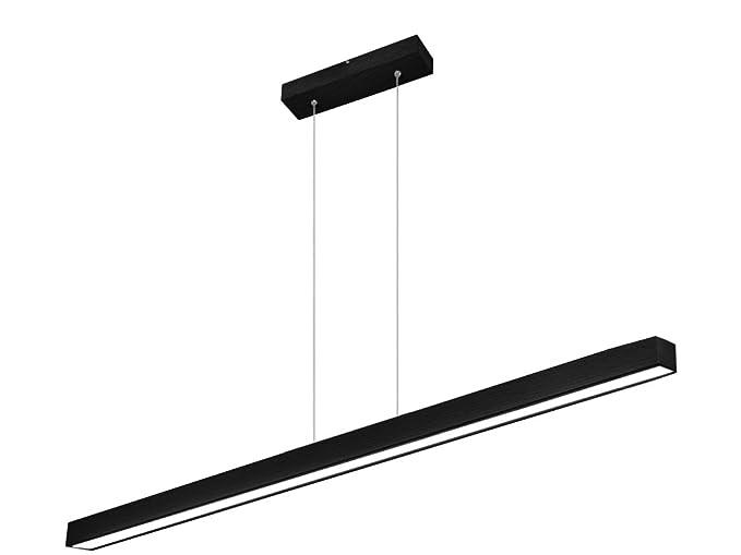 Plafoniere Con Base In Legno : Lampada a sospensione led in legno massiccio kb schwarz