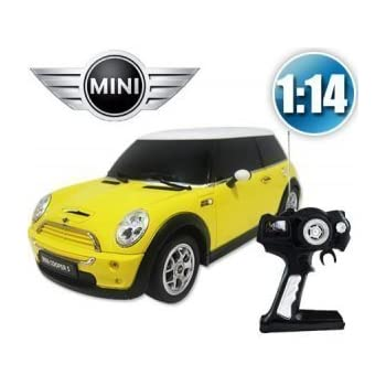 1 14 mini cooper s toy car rc remote control car rc rtr official liciense model. Black Bedroom Furniture Sets. Home Design Ideas