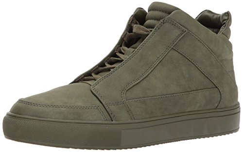 Steve Madden Men Defstar Fashion Sneaker Olive