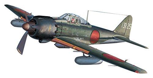 Hasegawa 1/48 Japanese Navy Mitsubishi A6M5c/A6M7 Mitsubishi A6M Zero 52-Hei/62-inch Furong troops plastic model 07448