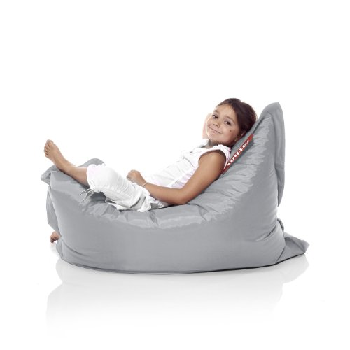 Ecr4kids Softzone Youth Bean Bag Soft Seat Navy And