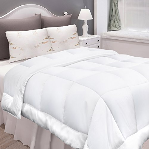 Jual Adoric Down Alternative Comforter King Size White Quilted Duvet
