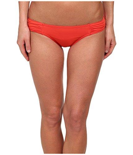 - Tommy Bahama Women's Pearl Solids Tab Side Hipster Bikini Bottom Hot Spice L
