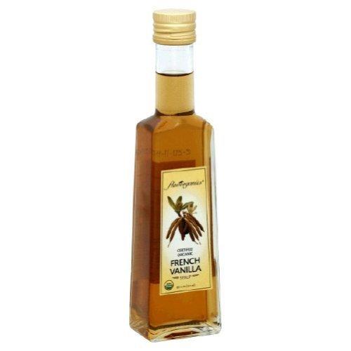 Organic French Vanilla Syrup - Flavorganics Organic French Vanilla Syrup, 8.5 Ounce -- 6 per case. by Flavorganics