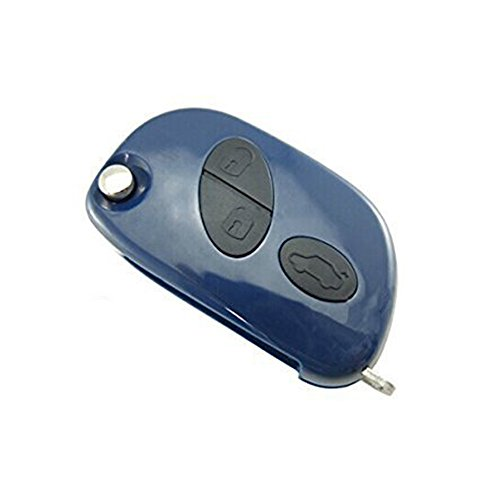 Keyecu Replacement Remote Key Keyless Entry Case Fob 3 Button for Maserati,Just A Key Shell