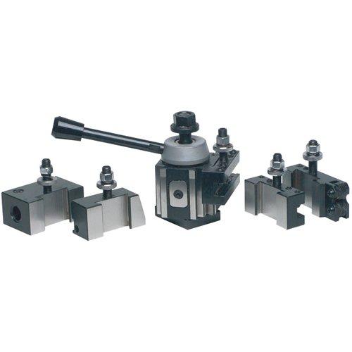 PHASE II 251-100 100ST 6 Pc Piston Q/C Tool Post Set-Lathe Swing 9''-12''