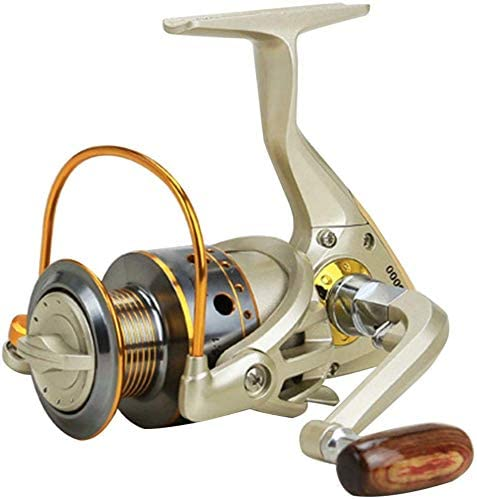 SJHPX Carrete de Pesca Spinning, Metal Spinning Reel ...