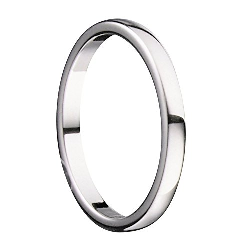 MJ 2mm Tungsten Carbide Classic Wedding Ring Polished Band Thin Size 4.5 by MJ Metals Jewelry (Image #3)