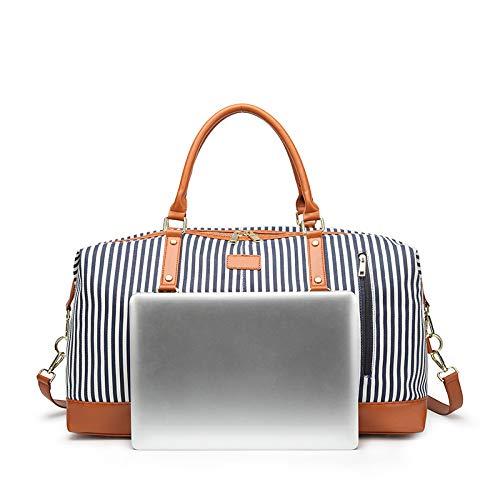 Laptop Main Duffel Grande Voyage Casual Bandoulière Bag XZWNB PU à Multicolore Sac Sac à Capacité XwpXq45Rx