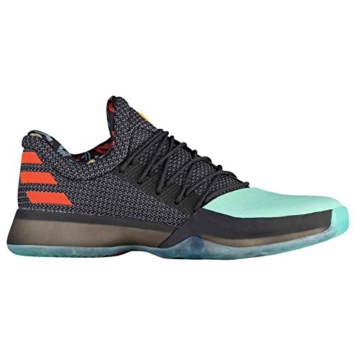 Adidas Harden Vol.1 Shoe Mens Basketball Nero / Verde