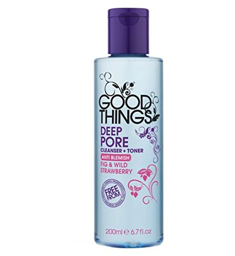 Price comparison product image GOOD THINGS DEEP PORE CLEANERS + TONER ANTI BLEMISH FIG & WILD STRAWBERRY