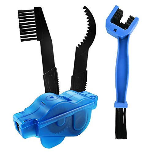 Cleaning Kit - Chain Scrubber, Bristle Brush Chain, Gear Cleaner, Bike Care Tools Maintenance Kit ()