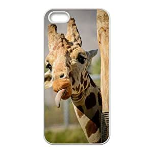 Customized case Of Giraffe Hard Case for iPhone 5,5S