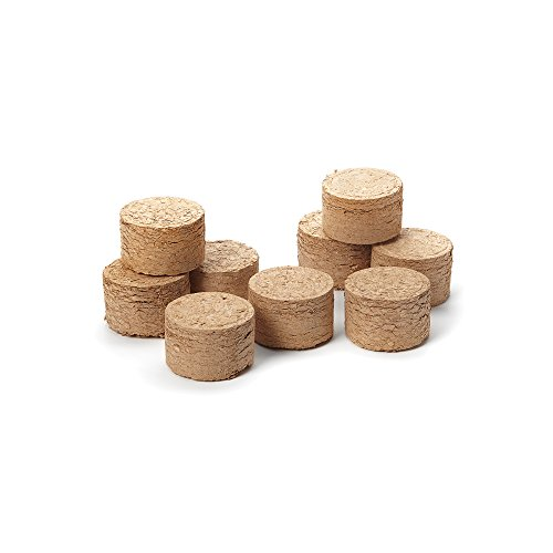 Outset 76354 Wood Chip Smoking Pucks, Apple, Maple and Hickory, Set of 9 by Outset