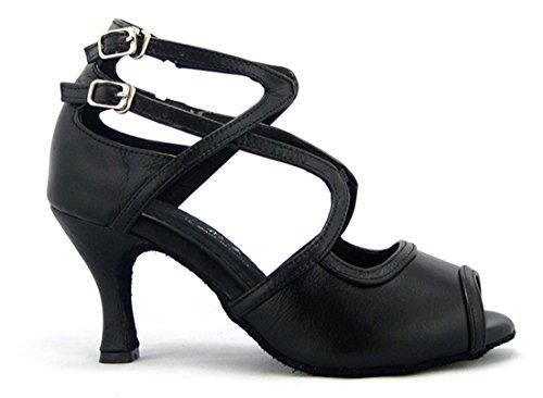 TDA - Zapatos con tacón mujer PU Black