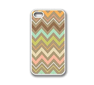 iPhone 4 Case White Silicone Case Protective iPhone 4/4s Case Tribal Chevron