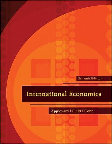 International Economics (The Mcgraw-Hill Series Economics