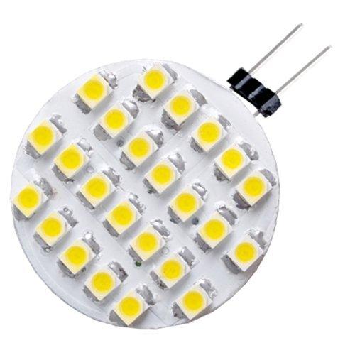 Sonline FOCO 24 SMD LED G4 Lmpara Bombilla Blanca Clida 12V DC: Amazon.es: Juguetes y juegos