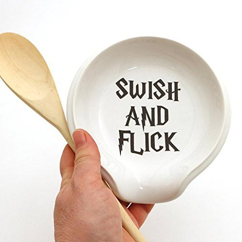 Swish and Flick Spoon Rest