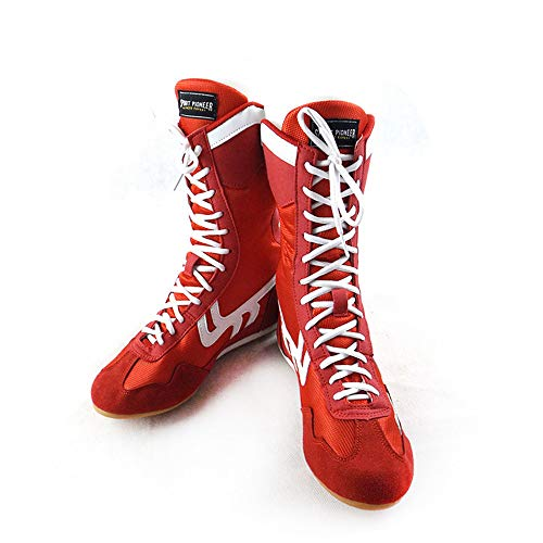 Professional Non-Slip Boxing Wrestling Shoes ()