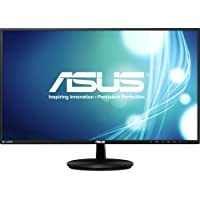 Asus Vn279q - Led Monitor - 27 - 1920 X 1080 Fullhd - A-Mva+ - 300 Cd/M2 - 100000000:1 (Dynamic) - 5 Ms - Hdmi, Vga, Displayport - Speakers - Black Product Type: Peripherals/Lcd & Led Monitors